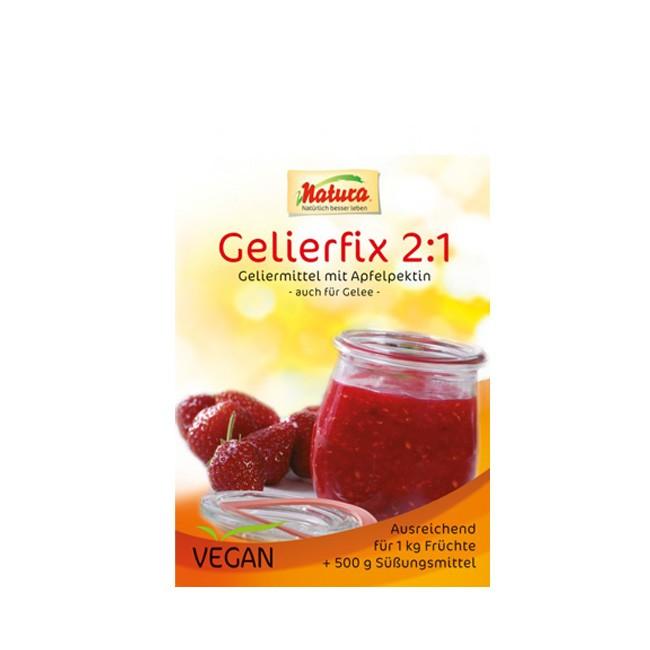 Natura Gelierfix 2:1 25g zum Zucker einsparen beim Marmeladenkochen