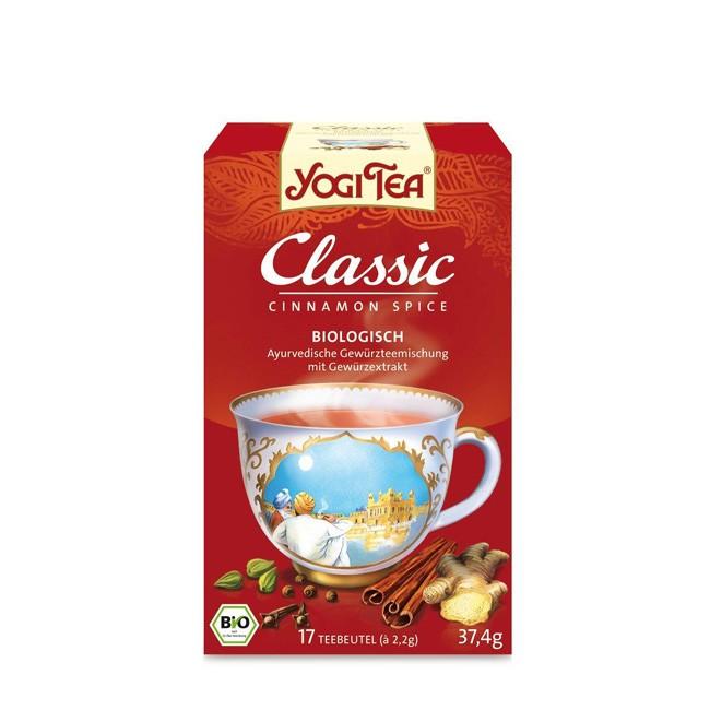 Golden Temple Yogi Tea Classic - ayurvedischer Gewürztee