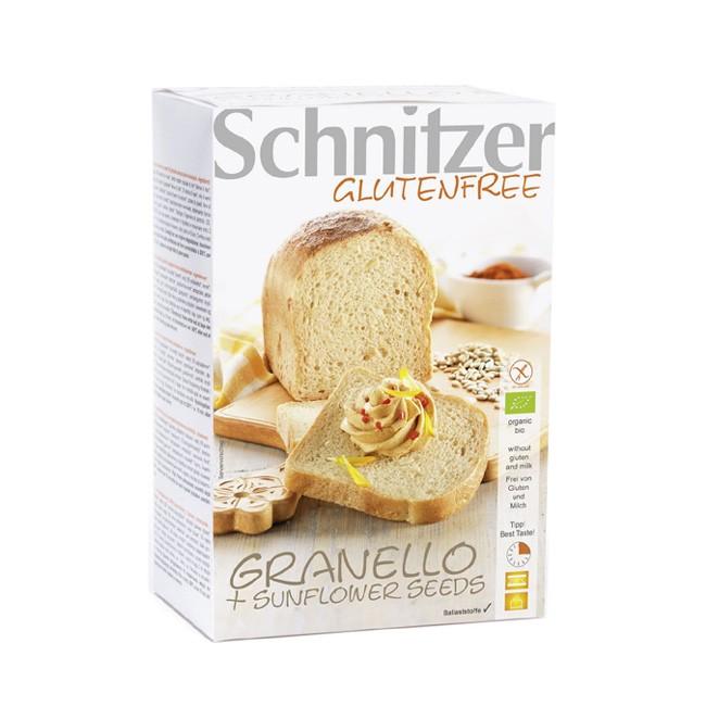 Granello + Sunflower Seeds Bio Brot glutenfrei von Schnitzer (2x250g)