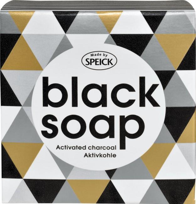 Speick : Black Soap, Aktivkohle Seife (100g)**