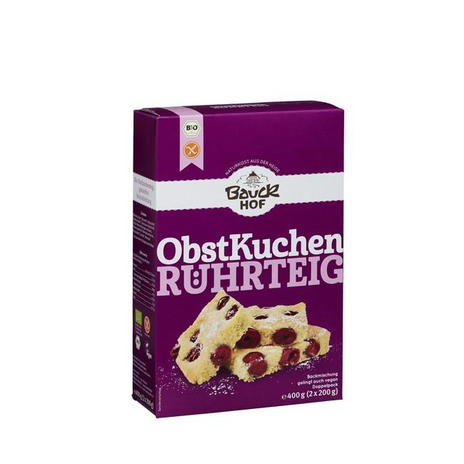Bio Obstkuchenteig Rührteig glutenfrei 400g