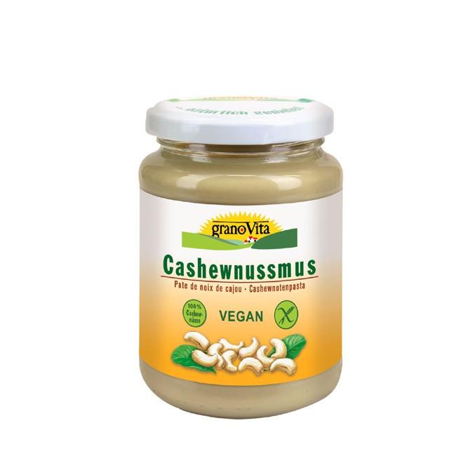 cashewnussmus-granovita-350g-ohne Zucker zum verfeinern von Speisen