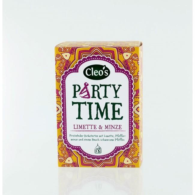 Cleo's Party Time Biologischer Tee (18 Beutel)