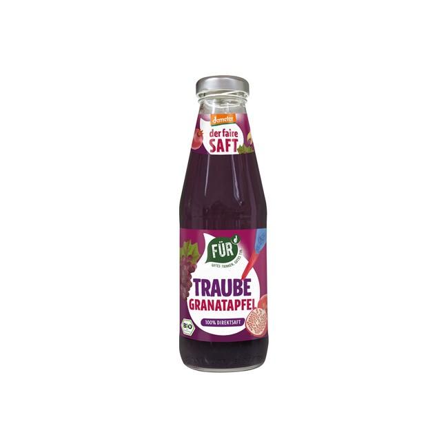 Voelkel FÜR Traube-Granatapfel, demeter (500ml)