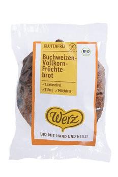 Werz : Glutenfreies Buchweizen-Vollkorn-Früchtebrot, bio (250g)
