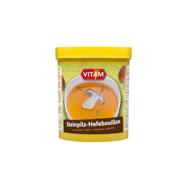 Leckere Steinpilz Hefebouillon 1 kg von Vitam mit bio Zutaten für Vegetarier