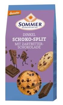 Sommer : Dinkel Schoko-Split, demeter (150g)