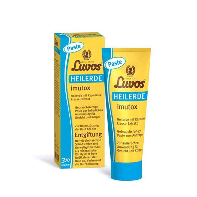 Heilerde imutox Paste zur äußerlichen Anwendung von LUVOS