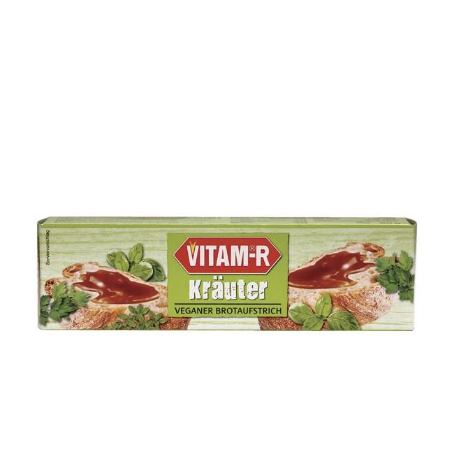 VITAM-R Kräuter Hefeextrakt ist ein Biokomplex aus Vitamin B-Komplex der Hefe ohne Salz 80g