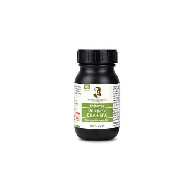 Dr. Budwig : Omega-3 DHA + EPA Kapseln (36 Stk)