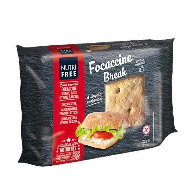 Nutrifree Focaccia Brot - Italienische Klassiker jetzt auch glutenfrei genießen