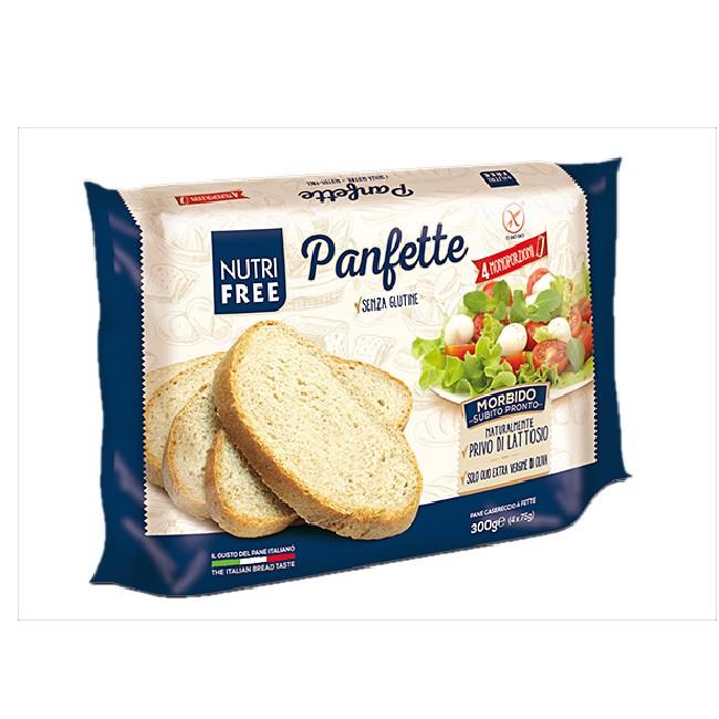 Glutenfreies Schnittbrot nach italienischen Rezept - Nutrifree Panfette (300g)