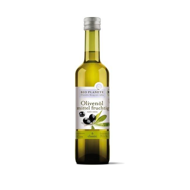 Bio Planète Olivenöl mittel fruchtig nativ extra, bio 500ml