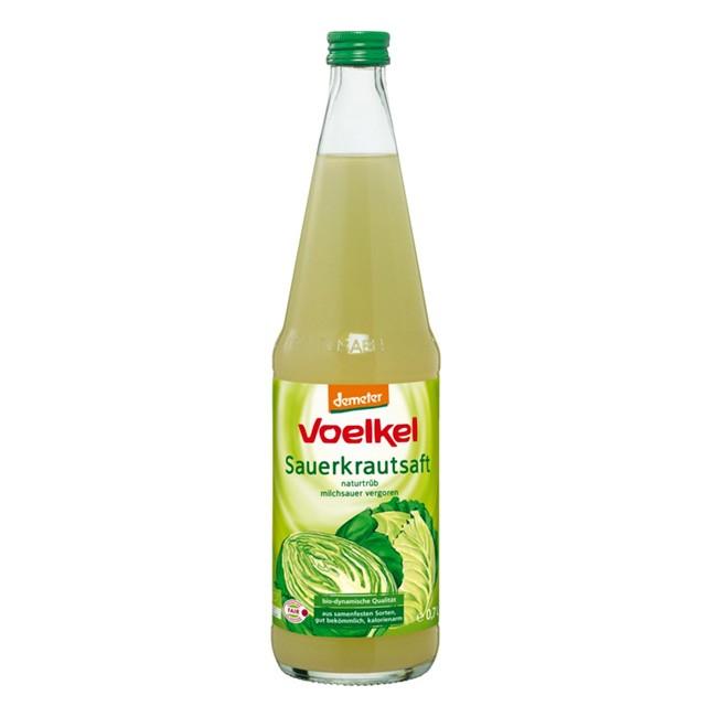 Sauerkrautsaft in Demeter Qualität von Voelkel (700 ml)