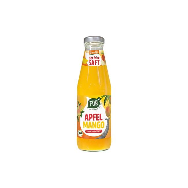 Voelkel: FÜR Der Faire Saft Apfel Mango, demeter 500ml
